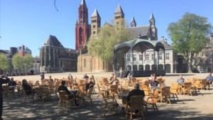 Horecaondernemers experimenteren op Vrijthof met 'anderhalve-meter-terras'