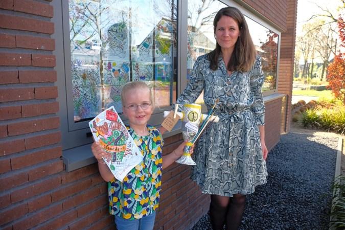 Kleurwedstrijd in Weerter wijk Leuken versterkt de onderlinge band