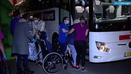 Video: Geëvacueerde inwoners Herkenbosch slapen niet allemaal even goed
