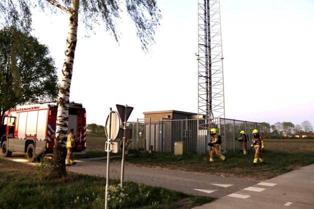 Melding brand in zendmast Siebengewald blijkt vals alarm