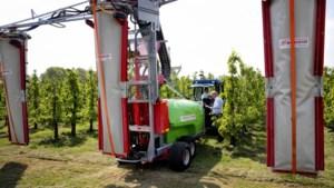 Limburgse innovatie leidt tot veel minder gebruik spuitmiddelen op fruitbedrijf