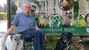 Henk Baggen gaat 100 kilometer 'rollen' voor Dierenpark Born
