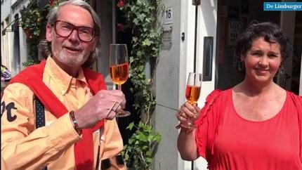 Video: Koningsroute ligt er verlaten bij: 'Volgend jaar komt de koning naar Maastricht, kan niet anders'