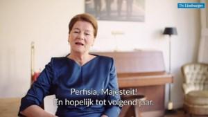 Video: Burgemeester Maastricht feliciteert koning: 'Perfisia, majesteit!'