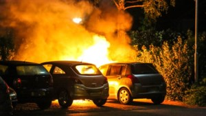 Forse schade door autobrand in Nederweert