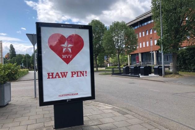Haw Pin poster MVV aan 2e druk toe