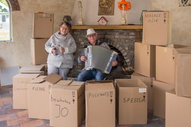 Lisette en Jo uit Stein kunnen tot vreugde van velen niet stoppen met muziek maken