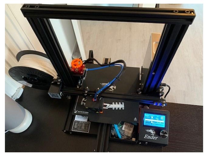 'Tussenstukjes' voor mondkapjes uit de 3D-printer