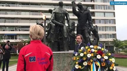Ingetogen dodenherdenking bij Limburgs Bevrijdingsmonument