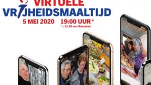Samen maaltijd delen op afstand in Heerlen tijdens Bevrijdingsdag