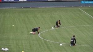 Eerste training VVV in coronatijden: voetbal met hindernissen toch balsem voor de ziel