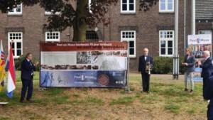 Spandoek onthuld voor Museum Peel en Maas