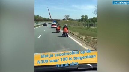 Video: Man en vrouw in scootmobielen van Buitenring geplukt