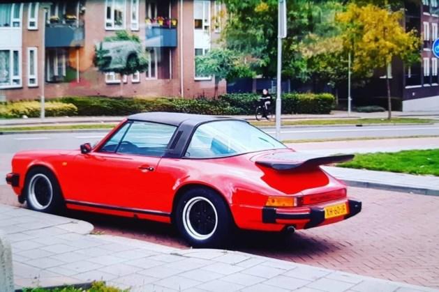 Rode oldtimer Porsche gestolen aan de Emmaberg in Valkenburg