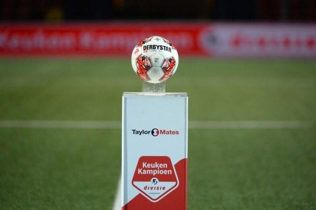 Clubs in eerste divisie luiden noodklok: '40 tot 50 procent omzetverlies'