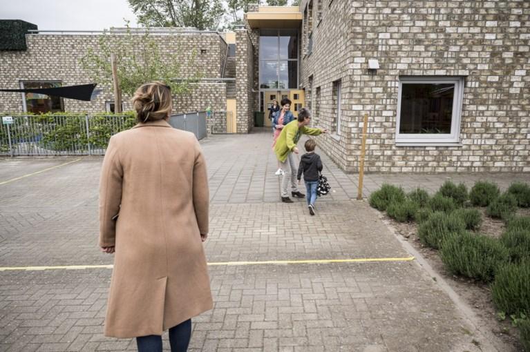 Basisscholen weer open: 'Ik had zo'n zin om weer naar school te komen'