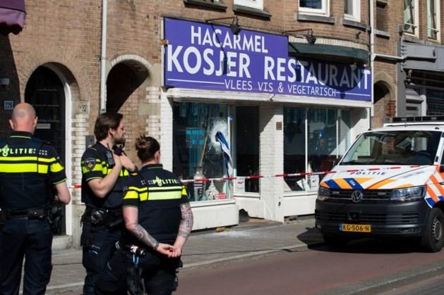 Verdachte vernieling Joods restaurant blijft langer vast, had locatieverbod