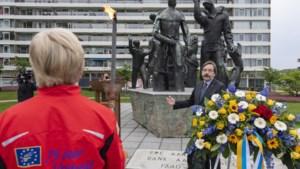 Woede na - per ongeluk - weghalen van bloemen bij Limburgs Bevrijdingsmonument in Maastricht