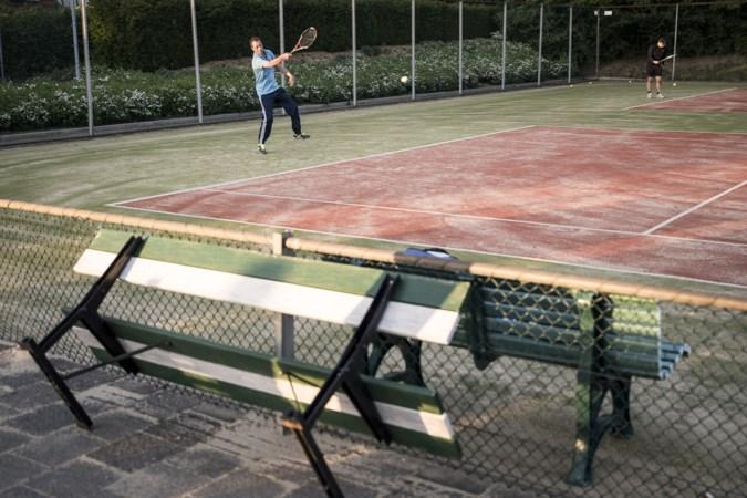 Na twee maanden zonder tennis is de gretigheid op de baan tastbaar