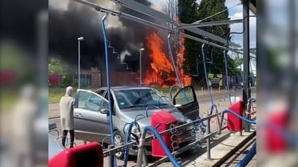 Video: Forse rookontwikkeling bij brand in Maastricht