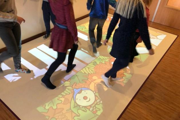 Beweegvloer laat peuters en kleuters educatief spelen