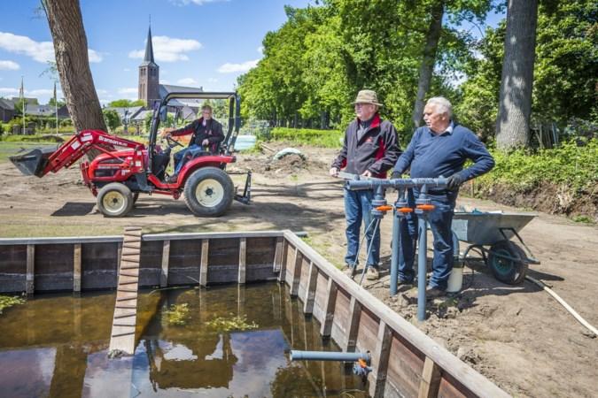 Rozenhof Lottum werkt aan nieuw stuk tuin
