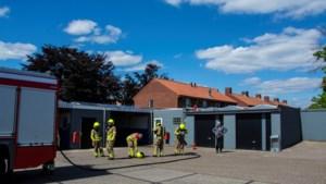 Zonnepanelen vatten vlam bij tankstation in Reuver