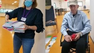 Ruim 300 kaartjes voor jarige Aaldert (96) bezorgd in Geleen