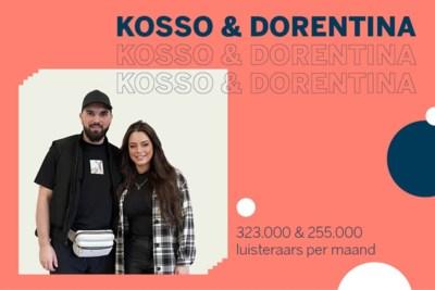 Ruim 90 miljoen streams voor Kosso en Dorentina uit Geleen