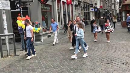 Maastrichtse binnenstad nadert een derde van normale drukte