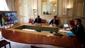 Merkel en Macron akkoord over steunplan van 500 miljard euro