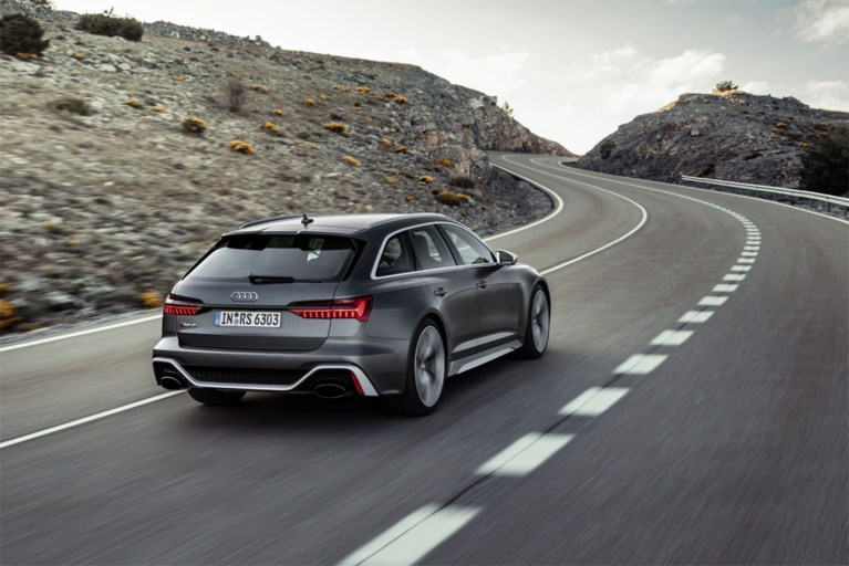 AudiS6 Avant: ultieme gezinsquarantaine