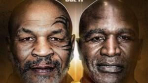 Gaan boksrivalen Tyson (53) en Holyfield (57) weer de ring in?