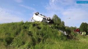 Bijrijder busje komt om het leven bij ongeval op afrit A76