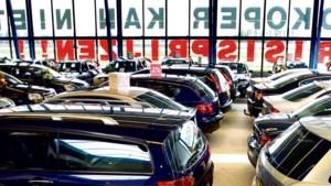 Recordterugval voor Europese autoverkoop