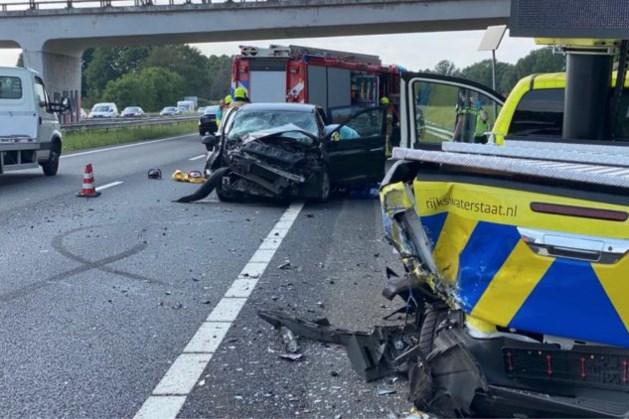 Ernstig ongeluk op A2: traumahelikopter opgeroepen