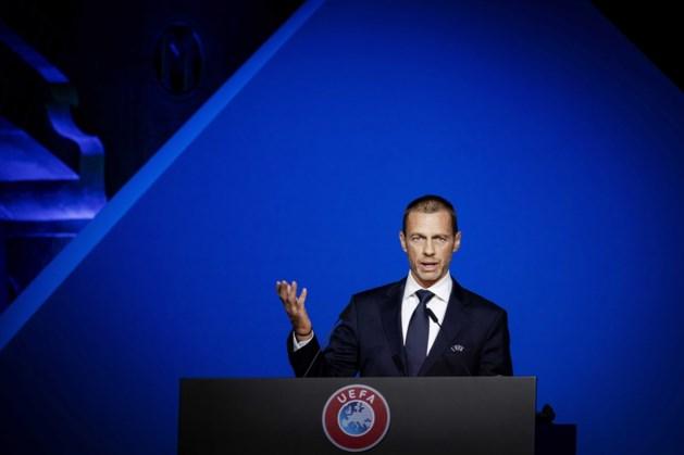 UEFA-baas Ceferin: voetbal met supporters zal er snel weer zijn