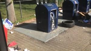 Heerlen bereidt proef met cameratoezicht bij afvalcontainers voor