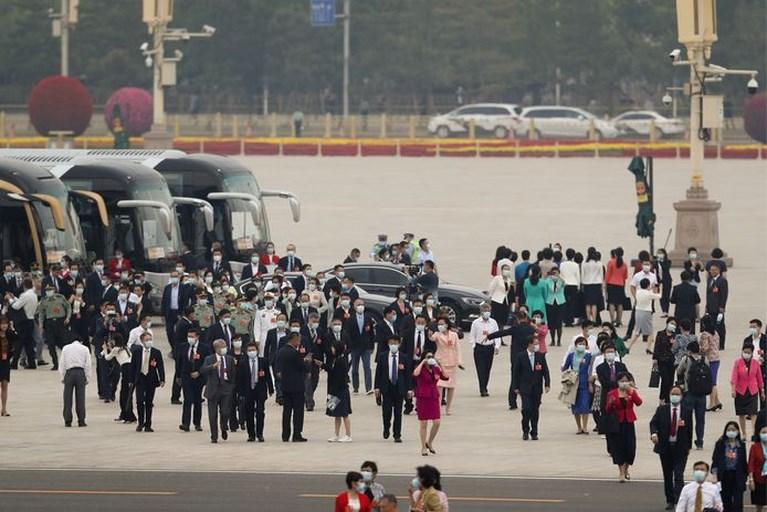 Hoogmis Chinese Communistische Partij in teken van 'geslaagde aanpak' coronavirus