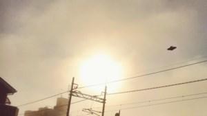 Een stortvloed aan ufomeldingen: het is druk aan het firmament