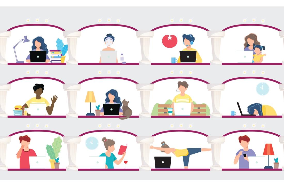 Digitale raadsvergaderingen: 'ben jij aan het breien?!!' - De Limburger