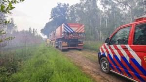 Opnieuw brand in de Deurnese Peel: vier blusvoertuigen ter plaatse