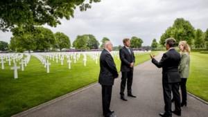 Stil eerbetoon gevallenen op sobere Memorial Day