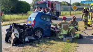 Ernstig verkeersongeval in Nederweert: traumahelikopter opgeroepen