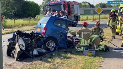 Verkeersongeval in Nederweert: traumahelikopter opgeroepen