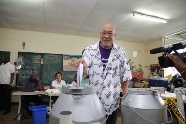 Prognose Suriname: partij Desi Bouterse verliest