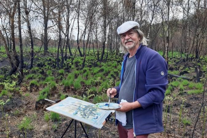 Peelbrand ontvlamt artistiek vuur bij schilder Jan Althuizen