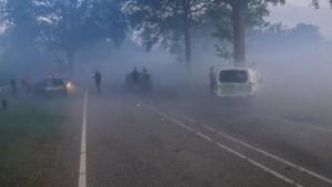 Gemeenten overwegen maximumsnelheid te verlagen vanwege rookoverlast Peelbrand