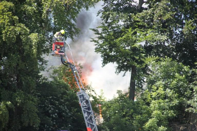 Uitslaande brand in kantine van voetbalclub