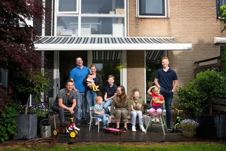 Heerlens gezin Quaedackers weer te zien in tiende seizoen 'Een huis vol'